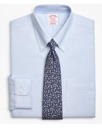 Brooks Brothers - Brookscool® Madison Classic-fit Dress Shirt, Non-iron Ground Micro-check - Lyst