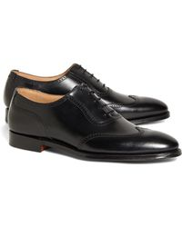 Brooks Brothers Peal & Co. Wingtips - Black