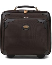 Brooks Brothers Nylon Office Trolley - Brown