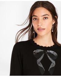 Brooks Brothers - Sequined Merino Wool Sweater - Lyst