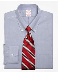Brooks Brothers - Traditional Relaxed-fit Dress Shirt - Lyst