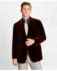 Brooks Brothers - Golden Fleece® Velvet Twill Sport Coat - Lyst