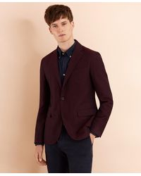 Brooks Brothers Wool-blend Dobby Sport Coat - Multicolor