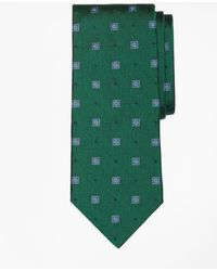 Brooks Brothers - Parquet Square Medallion Tie - Lyst