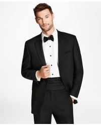 Brooks Brothers Regent Fit One-button 1818 Tuxedo - Black