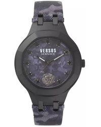 Versace Camo Black Vsp350317 Watch - Multicolour