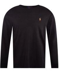 Polo Ralph Lauren Black/multi Ls T-shirt