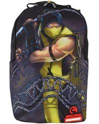 Sprayground Mortal Kombat Scorpion Rucksack - Black