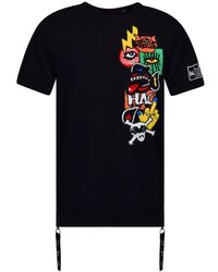 Haculla Black City Short Sleeve Sweatshirt