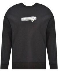 Sprayground Logo Sweatshirt - Black