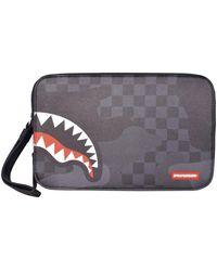 Sprayground 3am Shark Toiletry Bag - Grey