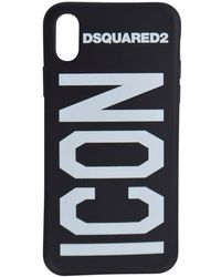 DSquared² Icon Rubber Iphone X Case