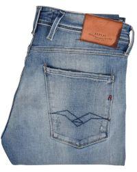 Replay Light Blue Anbass Jeans