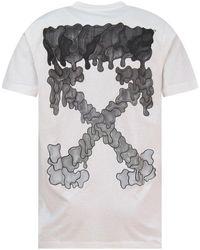 Off-White c/o Virgil Abloh White Marker Vertebrae Arrow Print Slim T-shirt