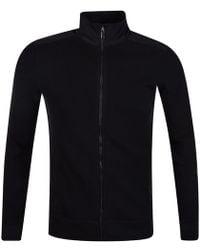 Michael Kors | Black Zip Through Knitted Jumper | Lyst