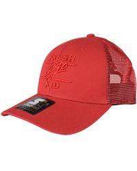 9e73104912c Fresh Ego Kid - Red Mesh Trucker Cap - Lyst