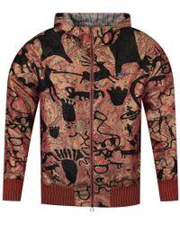 Vivienne Westwood Man Hooded Multi-print Lightweight Bomber Jacket - Pink