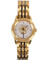 Versace Gold Palazzo Empire Watch - Metallic
