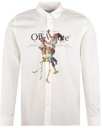 Off-White c/o Virgil Abloh White Pascal Painting L/s Shirt