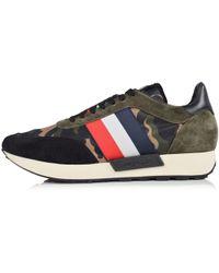 Moncler Horace Camo Runner Sneakers - Multicolour