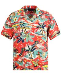 Polo Ralph Lauren Hawaiian Shirt - Red