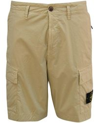 Stone Island Stone Cargo Bemuda Shorts - Multicolour