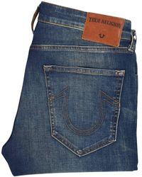 True Religion - Light Wash Tony Skinny Jeans - Lyst