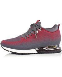 MALLET FOOTWEAR - Red Steel Tech Runner Trainers - Lyst