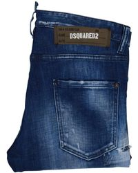 DSquared² - Blue Skinny Dan Jeans - Lyst