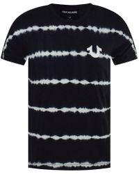 True Religion - Black Tye Dye Buddha T-shirt - Lyst