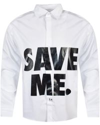 Blood Brother White Save Me Shirt