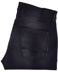 Replay Black Hyperflex Anbass Jeans