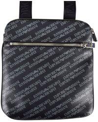 cf2c6728c54e Hot Emporio Armani - All Over Print Cross Body Bag - Lyst