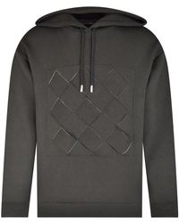 Opening Ceremony Cut Out Design Hoodie - Grey