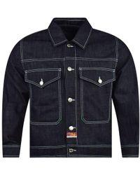 KENZO Bamboo Tiger Denim Jacket - Blue