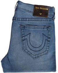 True Religion Moody Blue Ricky Straight Jeans