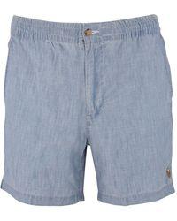 Polo Ralph Lauren Chambray Blue Prepster Shorts