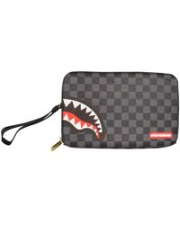 Sprayground 3am Shark Toiletry Bag - Gray