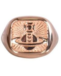 Vivienne Westwood Pink Gold Clemente Ring