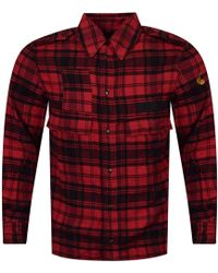 Vivienne Westwood - Anglomania Berry Red/black Tartan Check Shirt - Lyst