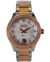 Versace - Versus Versace Silver/rose Gold Bayside Watch - Lyst