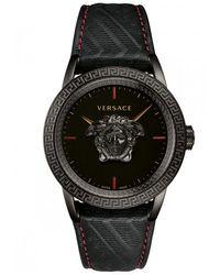 Versace Black/red Palazzo Empire Watch