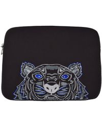 KENZO - Black/blue Tiger Laptop Sleeve - Lyst