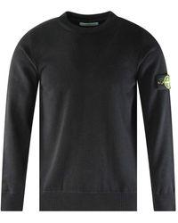 Stone Island Black Badge Knitted Jumper