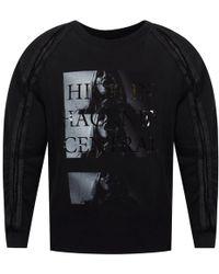RH45 - High In Hackney Central Black Detailed Sweatshirt - Lyst