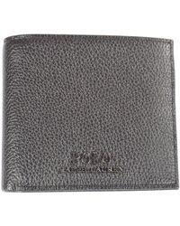 Polo Ralph Lauren - Black Logo Billfold Wallet - Lyst