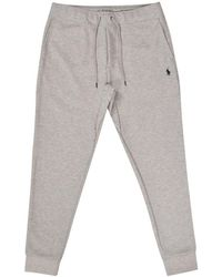Polo Ralph Lauren Grey Double Knit Tech Fleece Bottoms