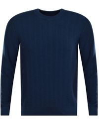 Michael Kors - Ocean Blue Knitted Jumper - Lyst