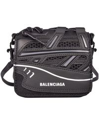 Balenciaga Trainer Cross Body Bag - Black