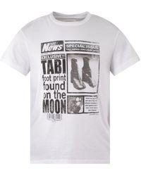 Maison Margiela Fake News White T-shirt